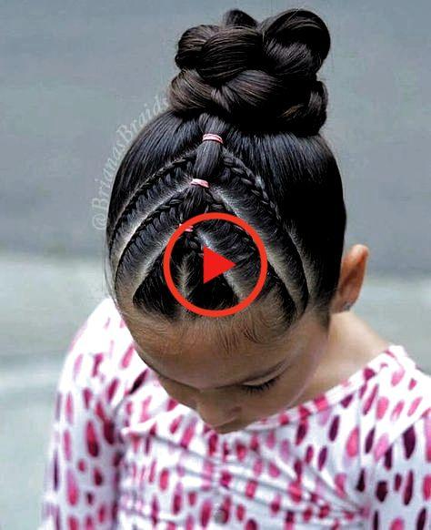 Schoolhairstyles Kidshair Easyhairstyles Coiffures Rapides Pour Les Coiffures Des Enfants Kids Hairstyles Girls Girls Hairstyles Easy Hairstyles For School