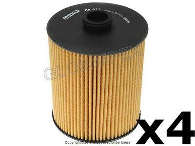 Details About Porsche Cayenne 12 14 Oil Filter Kit Set Of 4 Mahle Warranty In 2020 Porsche Cayenne Oil Filter Porsche