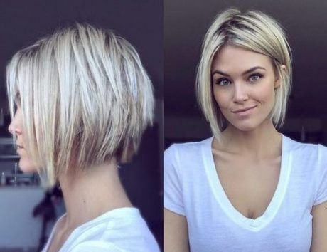 Cute Short Hairstyles For Round Faces Hairstyles 2019 Short Haircuts Cute Faces Hairstyles Short In 2020 Short Hair Styles Hair Styles Thick Hair Styles