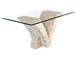 Mactan Stone Dining Table Seagull Modern Furniture And Lighting Stone Dining Table Dining Table 6 Seater Dining Table