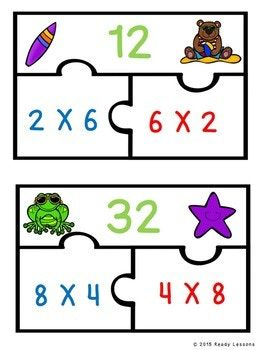 Commutative Property Of Multiplication Game 3rd Grade Math Review