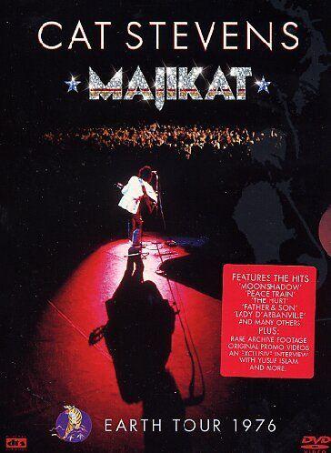 Cat Stevens Majikat Earth Tour 1976 Dvd Majikat Stevens Cat Earth