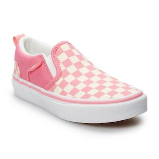 Vans Asher Kid's Checkered Skate Shoes