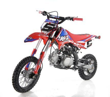 Apollo Rfz Open 125cc Dirt Bike Motocross 4 Speed Manual Pit