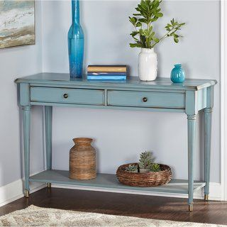 Overstock Com Online Shopping Bedding Furniture Electronics Jewelry Clothing More Sofa Table Console Table Blue Sofa