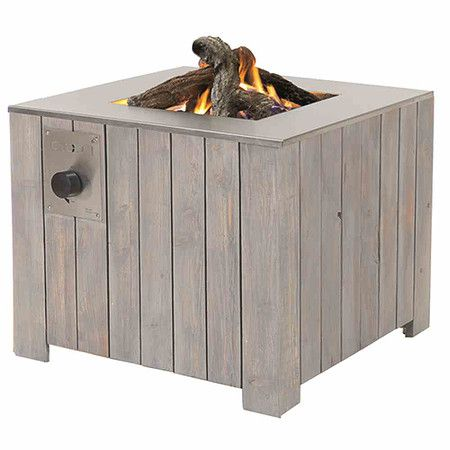 Cosi Cosicube Feuerstelle Douglasie70 Grey Wash Propan Feuerstellen Feuerstelle Und Outdoor Kamine