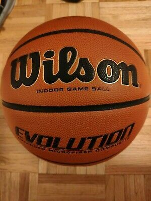 Advertisement Ebay Wilson Evolution Game Basketball 29 5 Wtb0516r Basketball The Originals Wilson