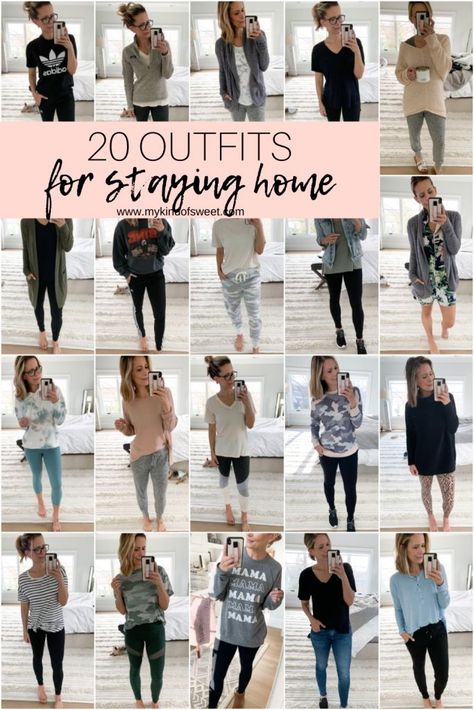 20 Outfits For STAYING HOME - my kind of sweet