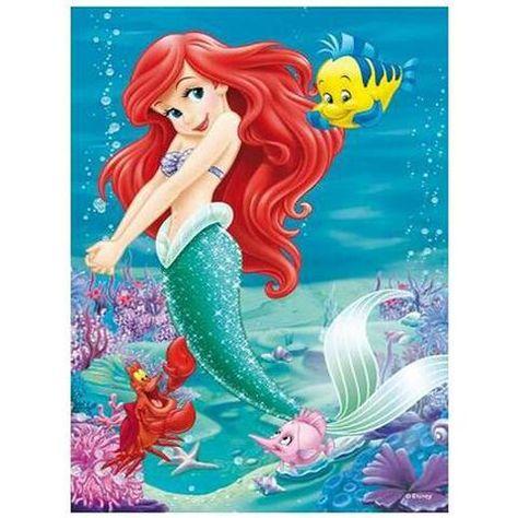 The Little Mermaid 5D DIY Paint By Diamond Kit
