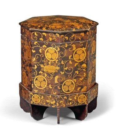 The Collections Of Principessa Ismene Chigi Della Rovere And Christie S In 2020 Gilt Edo Period Gold Paper