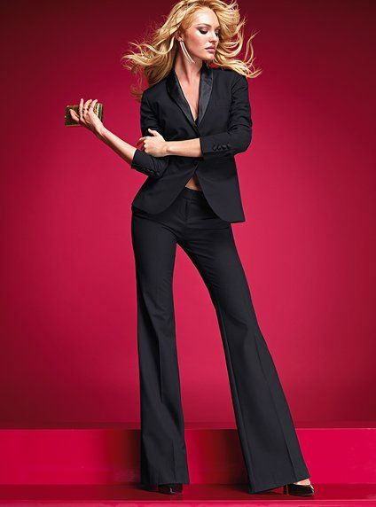 Victoria's Secret even has a take on the classic black dress pant. Very sexy!