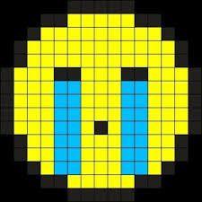 Resultado de imagen para dibujos cuadriculados de emojis | Dibujos ...