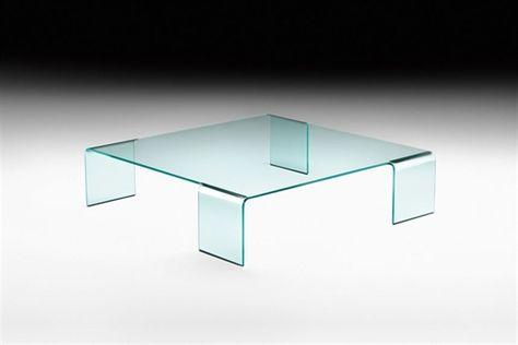 GlazenDesignTafel.nl | Glazen Salontafel Virgola | FIAM | Italian Design |  Glass Table By Paolo Rizzatto | Vidre Glastoepassingen, Leiden | Pinterest