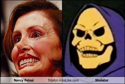 Nancy Pelosi Totally Looks Like Skeletor Skeletor Nancy Pelosi Nancy