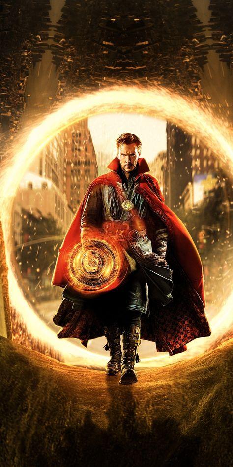 Movie, Doctor Strange, marvel, Benedict Cumberbatch, 1080x2160 wallpaper