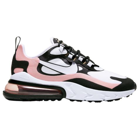 air max 270 react schwarz rosa