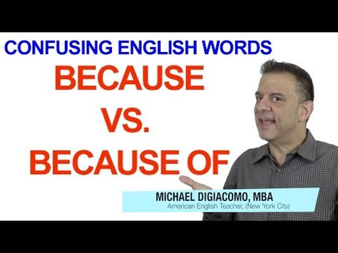 YouTube English Lesson What's the best answer? I don't have to go to work today ______. a. because Sunday b. because of Sunday c. because it is Sunday d. because of it is Sunday Get the answer and a FREE English lesson when you click the link