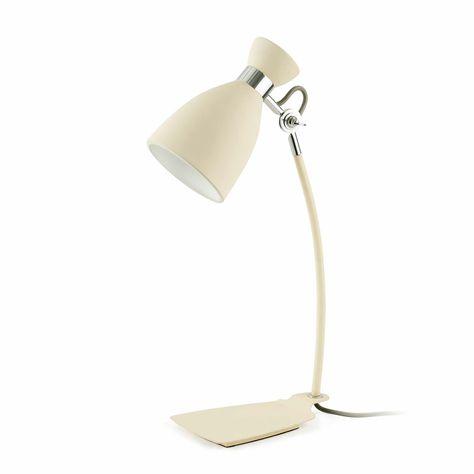 Lámpara Blanca estudioretrolamparas de mesa tipo PXZiuOkT