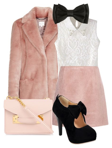 """""""Dolores Jane Umbridge"""" by annakeath ❤ liked on Polyvore featuring Acne Studios and Sophie Hulme"""
