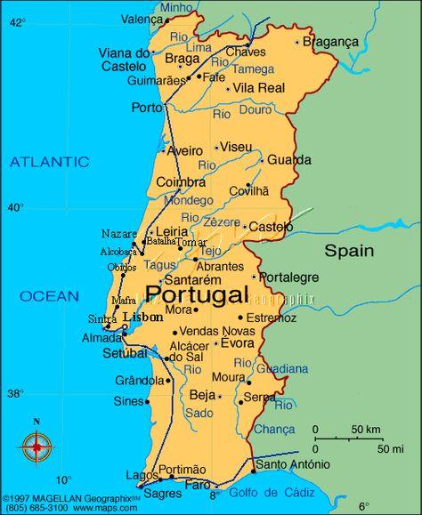 Portugalia Az Iberiai Felsziget D Ny I Reszen Helyezkedik El