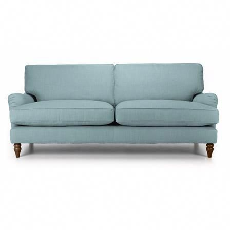 Louise 2 Seater Sofa Sky Blue With