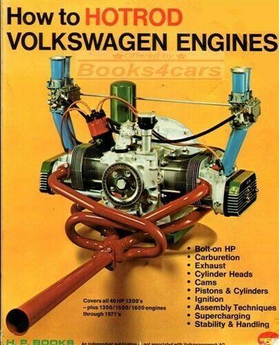 Volkswagen Motores Como Manual Hot Rod Fisher Escarabajo Libro Refrigerado Por Aire Ebay In 2021 Vw Engine Volkswagen Beetle Volkswagen
