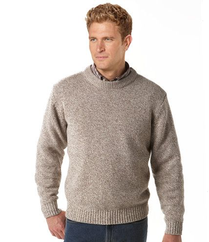 The New England Classic Ragg Wool Sweater is back form the 80's ...
