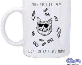 Cat Lady Christmas Gift Crazy Cat Lady Mug Cat Lady Mug Show Me Your Kitties Mug Novelty Mug Cat Lover Mug
