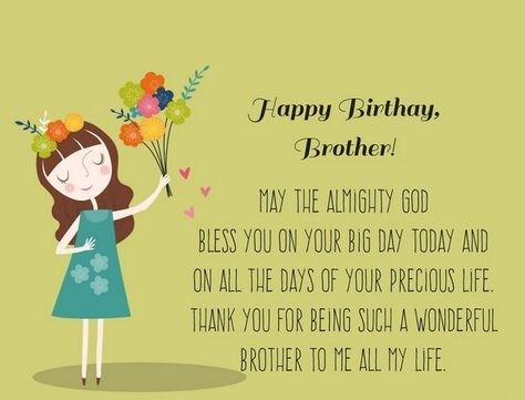 200 Best Birthday Wishes For Brother With Images Best Birthday