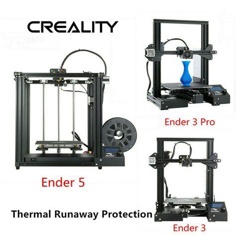Newest Creality Ender 3//Ender 3 Pro//Ender 5 3D Printer DC 24V 1.75mm PLA 2019