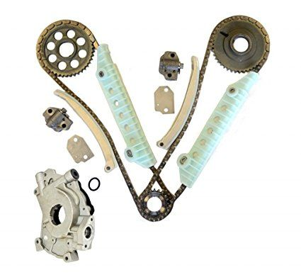 Mustang /& F-150 /& Expedition /& E-150 Econoline 4.6L V8 SOHC Windsor MOCA Timing Chain Kit for Ford 1997-2000