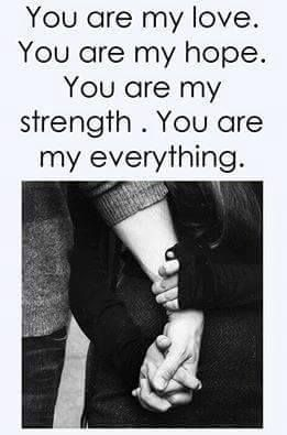 Love Quotes 262 My Everything Quotes My World Quotes Forever Love Quotes