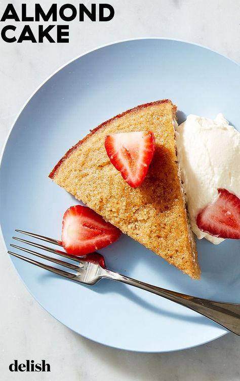 You'd never know this Almond Cake is gluten-free.