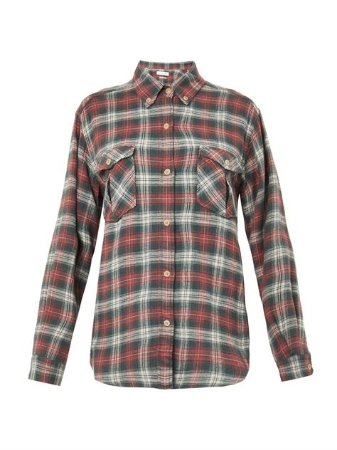 Vadisse Checked Flannel Shirt Isabel Marant étoile