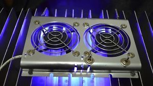 Dometic Refrigerator Deluxe Fan With Led Light Grill Increases Cooling Led Accent Lighting Led Cool Stuff