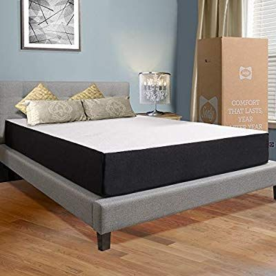 Sealy 10 Inch Hybrid Bed In A Box Adaptive Comfort Layers Medium Firm Feel Memory Foam Mattress Queen Box Bed Hybrid Beds Mattress Furniture