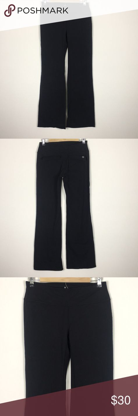 b7e949fef2 Athleta Black Yoga Pants Black yoga pants from Athleta. Has Athleta logo on  back pocket