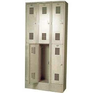 Winholt Wl 6 Triple Column Six Door Locker 12 X 12 Door Locker Simple Storage Lockers