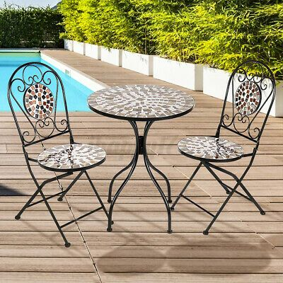bistro set outdoor patio garden