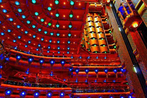 Lobby of Carnival Cruise Ship
