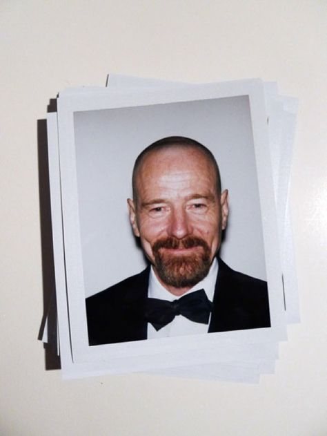 Bryan Cranston / Golden Polaroids / 2013