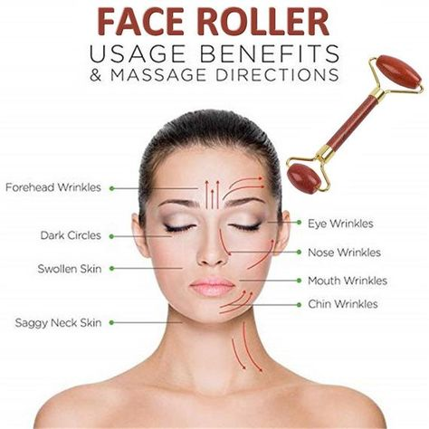 Cc Creme, Face Roller, Skin Roller, Face Exercises, Rides Front, Eye Wrinkle, Facial Muscles, Face Yoga, Face Massage