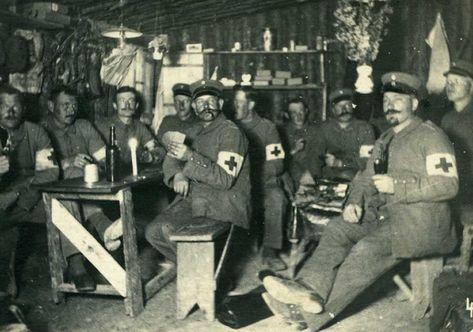 British Medics, WWI.