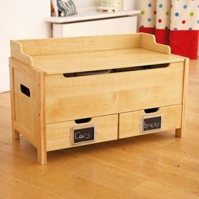 Wood Toy Box With Bottom Drawers Woodworking Pinterest Wood Toys Toy Boxes And Drawers