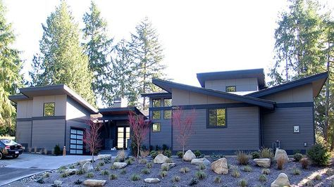 Contemporary Style House Plan 3 Beds 3 Baths 2829 Sq Ft Plan 132 563 Craftsman Style House Plans Shed House Plans Shed Homes