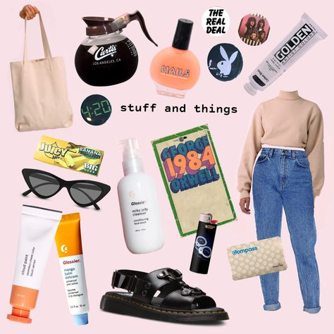 Moodboard Fashion Glossier American Apparel Los Angeles Apparel Doc Martens In 2020 Met Afbeeldingen