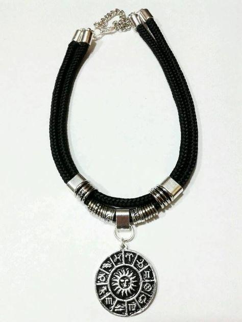 e263e35198ab Collar Choker Moda Cordon Negro Ancho Dijes A Eleccion -   90
