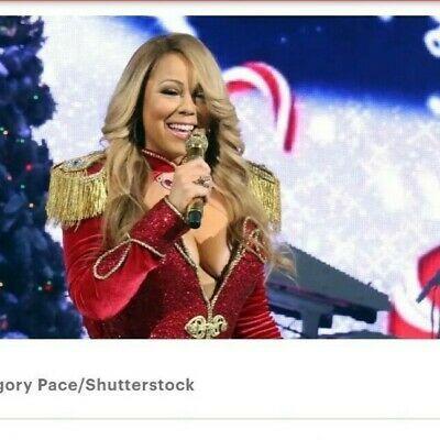 Mariah Carey All I Want For Christmas Tour 2tix 12 15 19 Msg In New York Ny In 2020 Mariah Carey Mariah Maria Carey