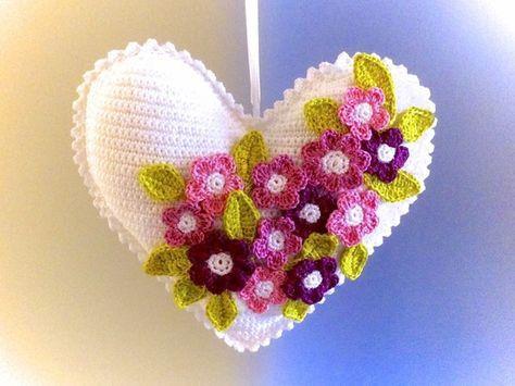 Das Herz Mit Blumen Deko Brauchst Du Unbedingt Amigurumi