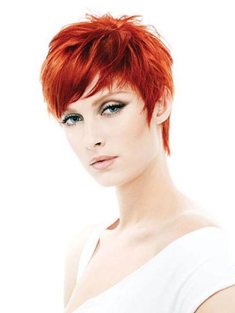 Kurze Rote Haare Frisuren Dunkelblaue Haare Und Frisuren